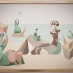 Entre a abstracción e a nova figuración
